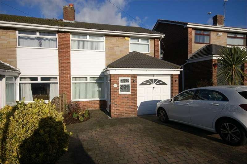3 Bedrooms Semi Detached House for sale in Hinckley Road, Islands Brow, St Helens, Merseyside