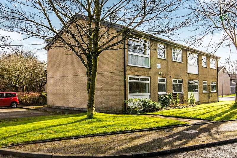 2 Bedrooms Flat for sale in Dunwood Park Courts Milnrow Road, Shaw, Oldham, OL2