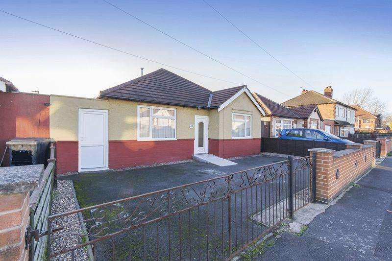 2 Bedrooms Detached Bungalow for sale in HILLCREST ROAD, CHADDESDEN