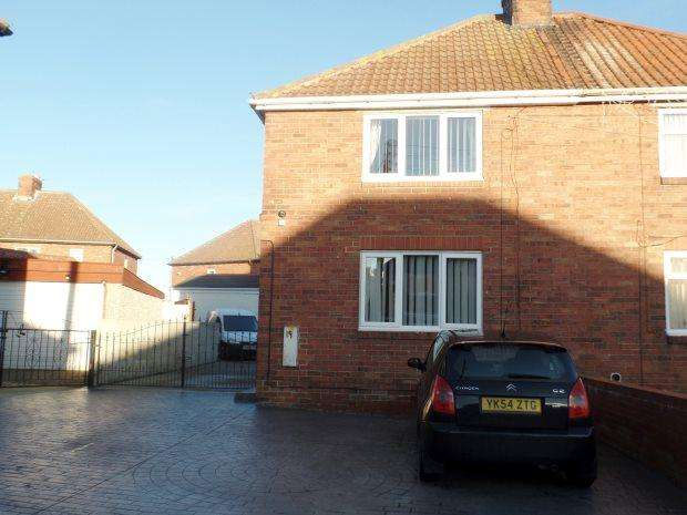 2 Bedrooms Terraced House for sale in BRUCE GLAZIER TERRACE, SHOTTON, PETERLEE AREA VILLAGES
