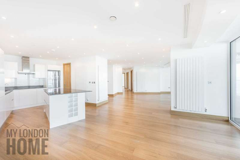 3 Bedrooms Apartment Flat for sale in Arena Tower, Baltimore Tower, Canary Wharf, London, E14