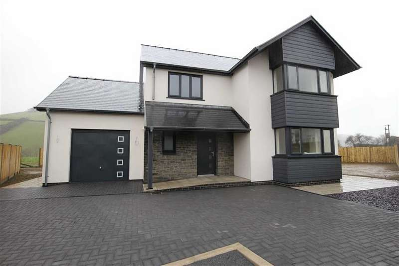 4 Bedrooms Detached House for sale in Llandre, Bow Street