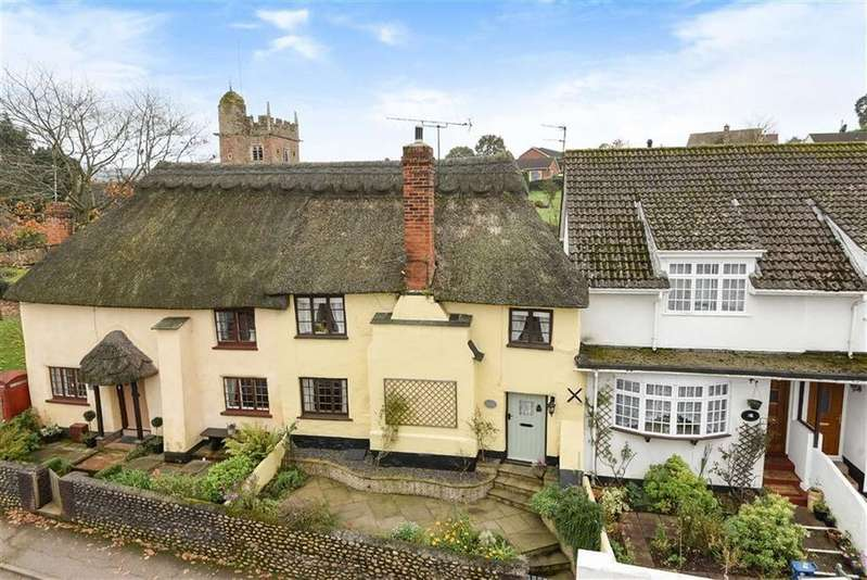 3 Bedrooms Semi Detached House for sale in Church Green, Newton Poppleford, Newton Poppleford Sidmouth, EX10