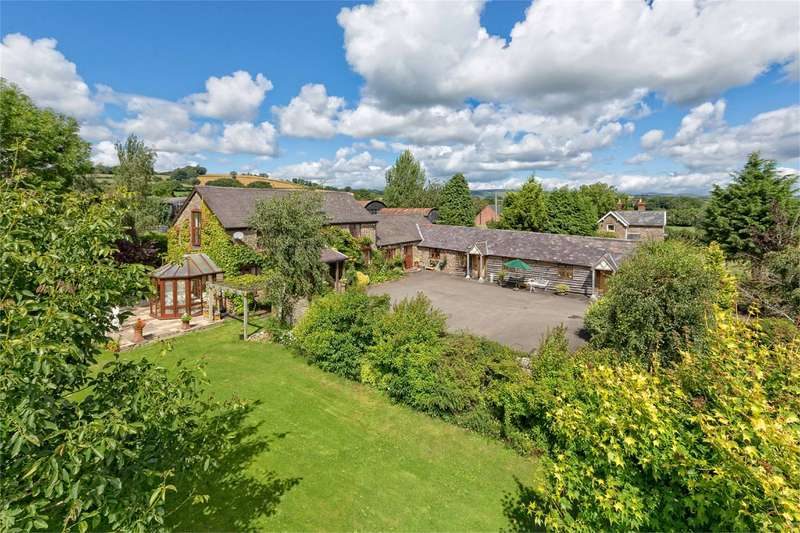 5 Bedrooms House for sale in Highgrove Farm, Long Lane, Sibdon Carwood, Craven Arms, Shropshire, SY7