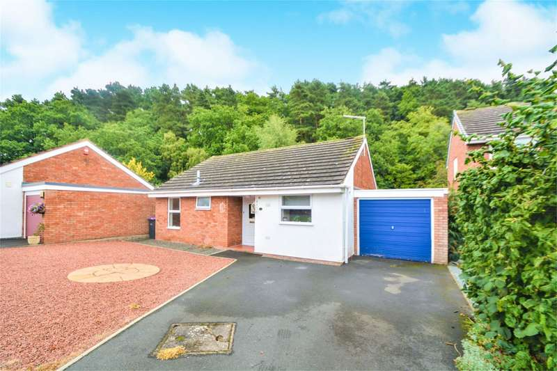 2 Bedrooms Detached Bungalow for sale in 18 Westerkirk Drive, Madeley, Telford, TF7