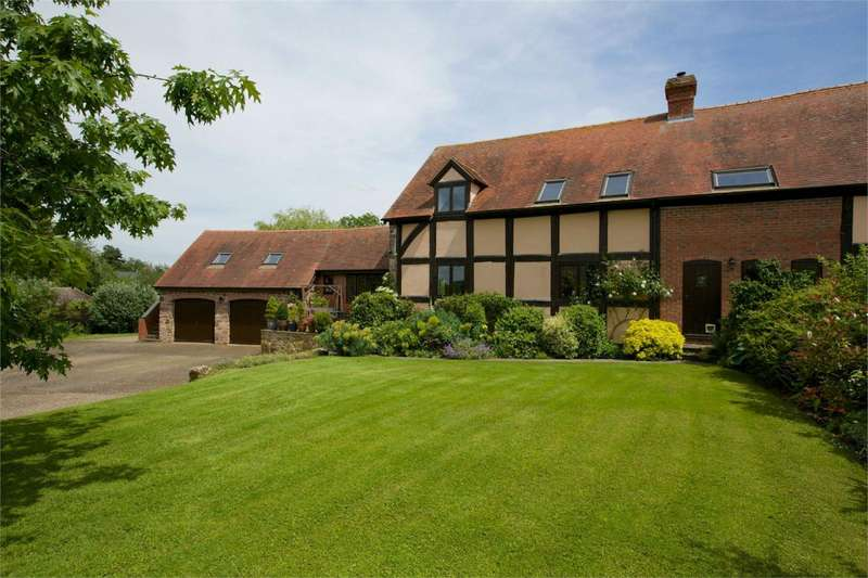 4 Bedrooms Barn Conversion Character Property for sale in 5 Upper Court, Luston, Leominster, Herefordshire, HR6