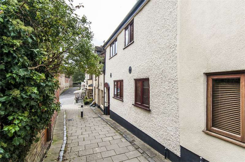2 Bedrooms Semi Detached House for sale in Frog Cottage, 25 St Johns Road, Ludlow, Shropshire, SY8