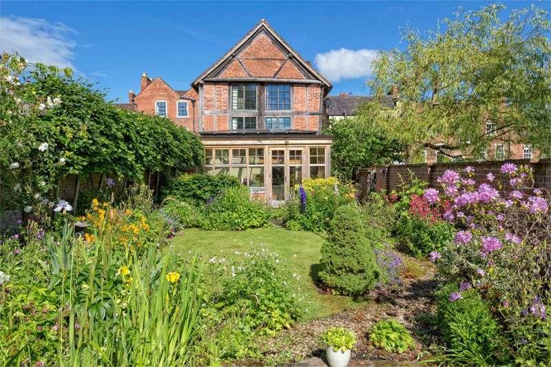 3 Bedrooms Link Detached House for sale in Curriers Cottage, Mill Street, Ludlow, Shropshire, SY8