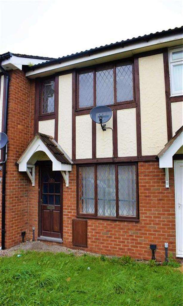 2 Bedrooms Terraced House for sale in 3, Pavilion Court, Llanidloes Road, Newtown, Powys, SY16