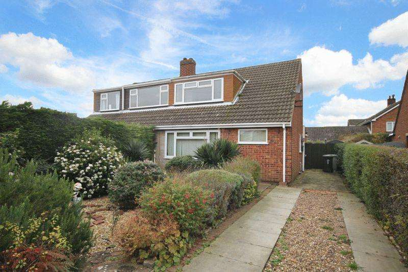3 Bedrooms Semi Detached Bungalow for sale in ROBINSONS LANE, NORTH THORESBY