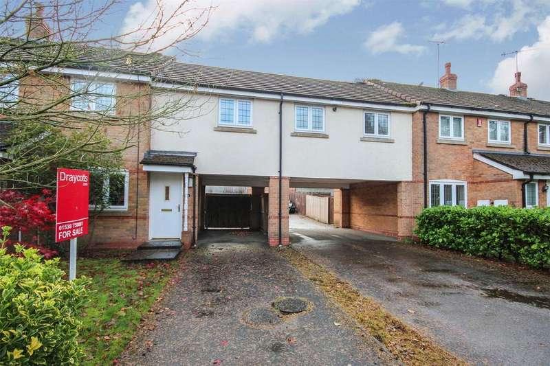 1 Bedroom Flat for sale in Lister Grove, Blythe Bridge, Staffordshire
