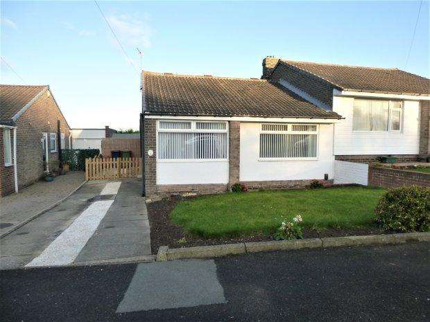 2 Bedrooms Semi Detached Bungalow for sale in WOODHURST GROVE, HASTINGS HILL, SUNDERLAND SOUTH