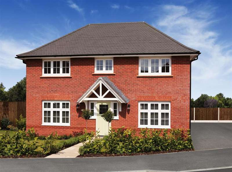 4 Bedrooms Detached House for sale in Abbeyfields, Middlewich Road, Sandbach