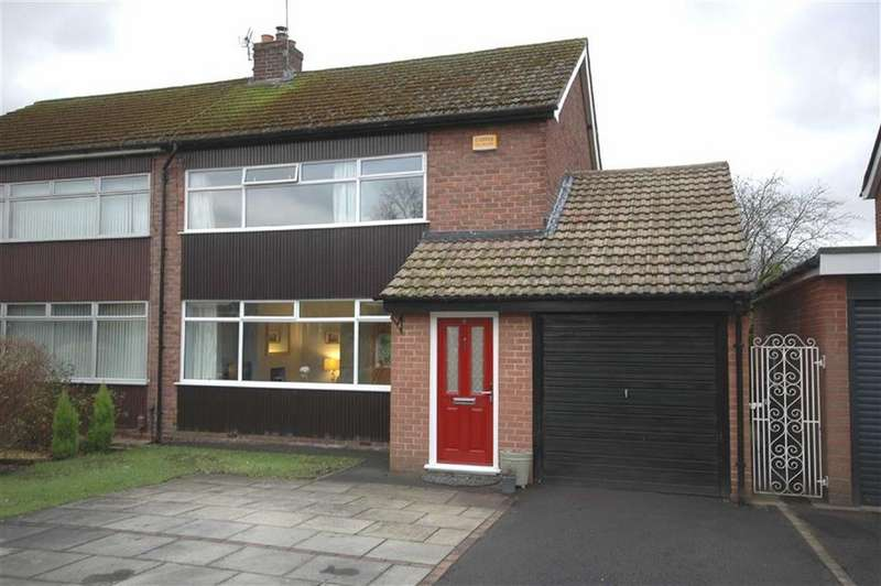 3 Bedrooms Semi Detached House for sale in Covell Road, Poynton, Cheshire