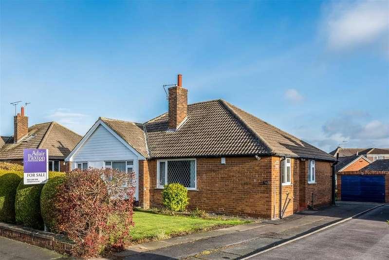 2 Bedrooms Semi Detached Bungalow for sale in Cookridge Avenue, Leeds