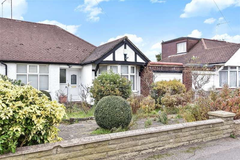 3 Bedrooms Semi Detached Bungalow for sale in Haslemere Avenue, Barnet