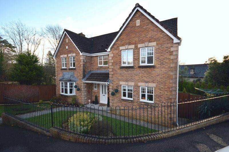 4 Bedrooms Detached House for sale in Ysbryd Y Coed, Bridgend