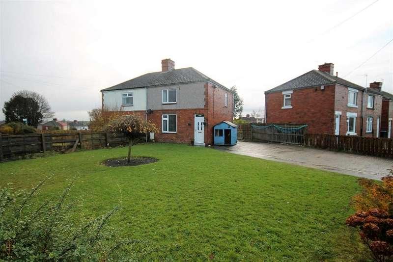 2 Bedrooms Semi Detached House for sale in Moorside Crescent, Fishburn, Fishburn