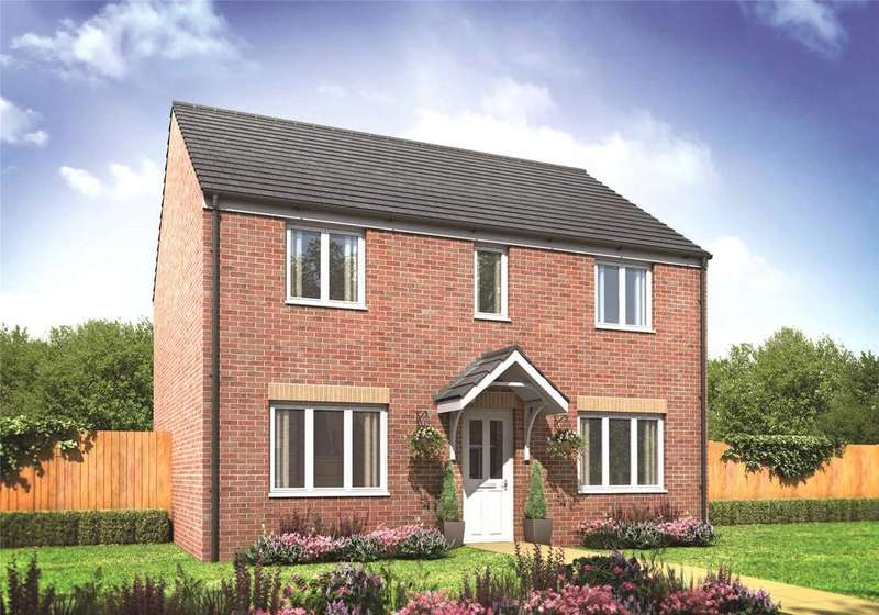 4 Bedrooms Detached House for sale in Plot 50 Millers Field, Manor Park, Sprowston, Norfolk, NR7