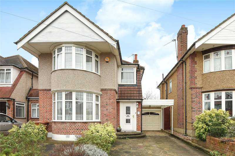 3 Bedrooms Detached House for sale in Chester Drive, Harrow, HA2