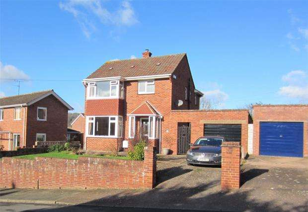 3 Bedrooms Detached House for sale in West Garth Road, Cowley, Exeter, Devon