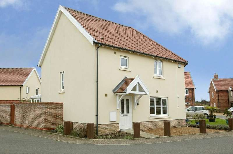 3 Bedrooms End Of Terrace House for sale in Larks Place, Dereham