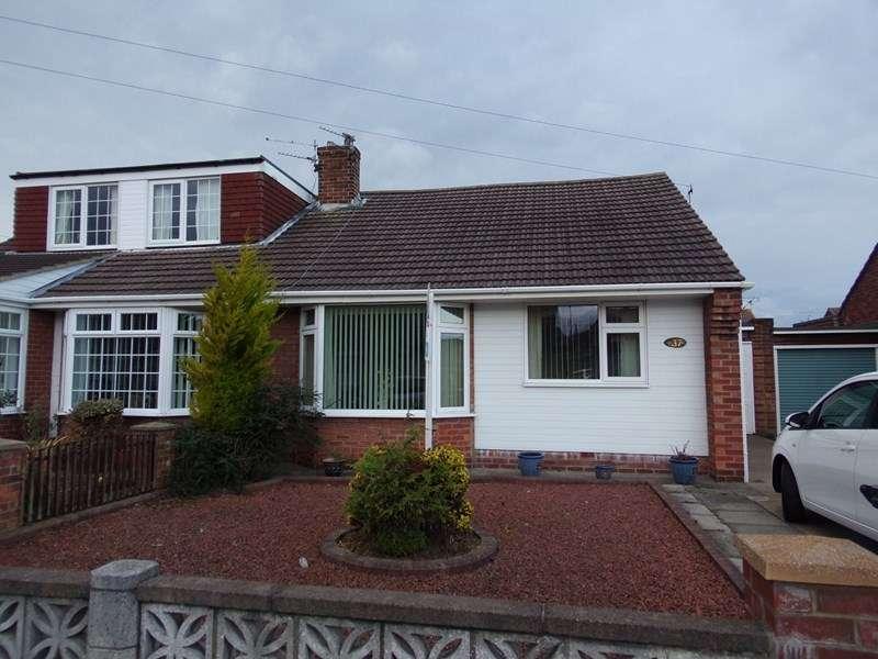 2 Bedrooms Bungalow for sale in Simonside Avenue, Choppington, Northumberland, NE62 5LJ
