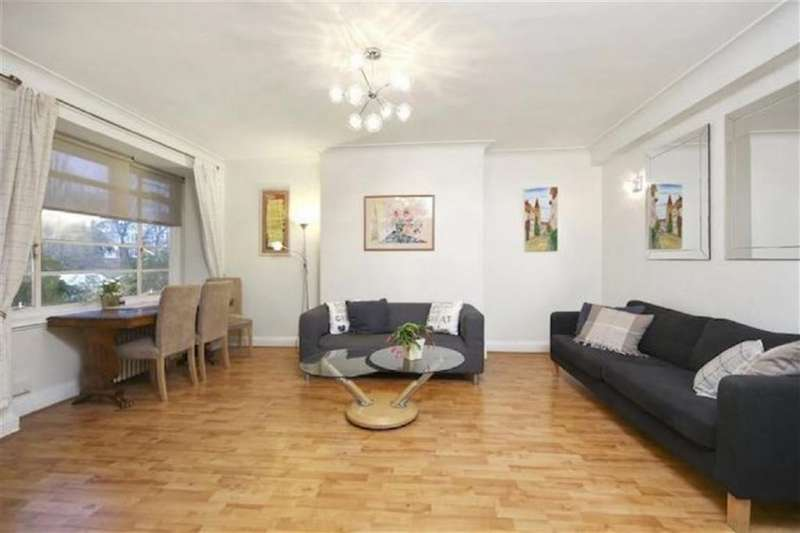 2 Bedrooms Flat for sale in Hillfield Court, Belsize Park, London