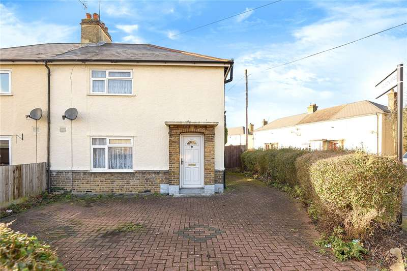 3 Bedrooms Semi Detached House for sale in Marlborough Road, Hillingdon, Middlesex, UB10