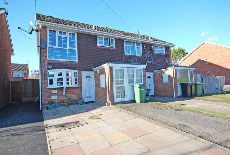 3 Bedrooms Semi Detached House for sale in Whernside Drive, Whitemore Reans, Wolverhampton WV6