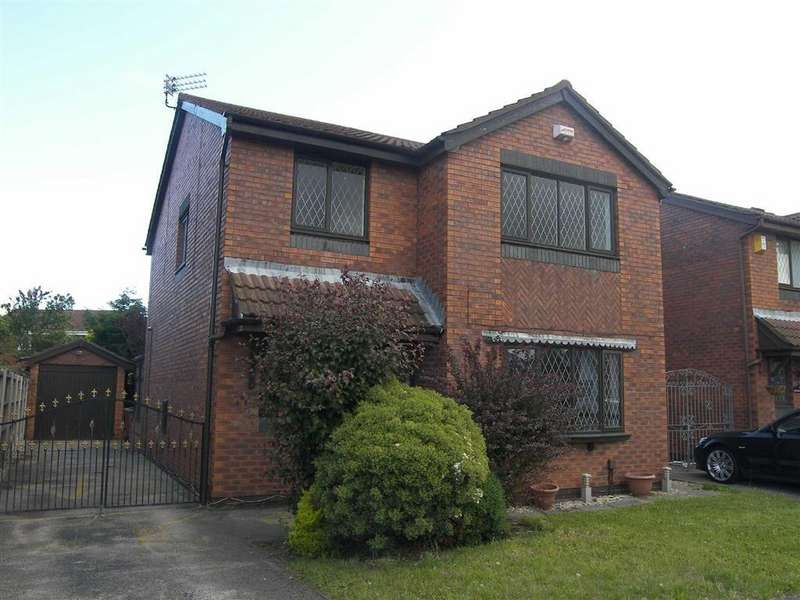 4 Bedrooms Detached House for sale in Lowfield Road, Blackpool, Lancashire