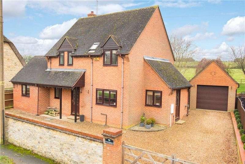 4 Bedrooms Detached House for sale in Main Street, Beachampton, Milton Keynes, Buckinghamshire