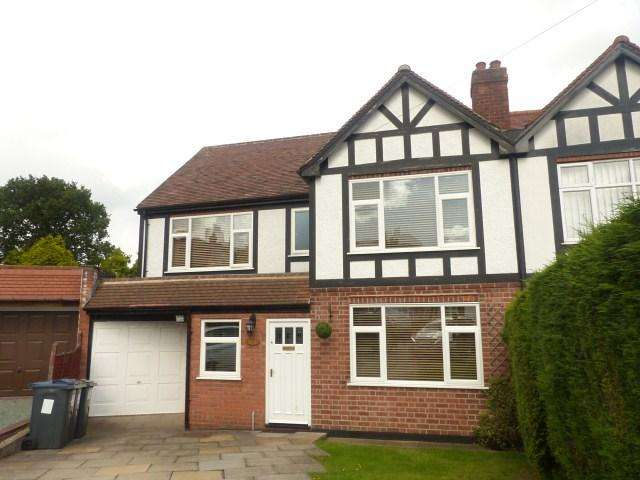 4 Bedrooms Semi Detached House for sale in Clarence Gardens, Four Oaks