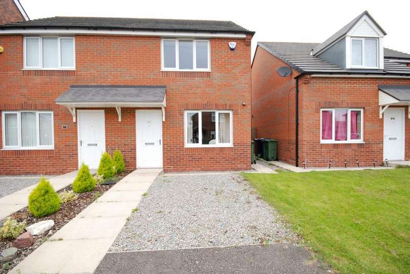 2 Bedrooms Semi Detached House for sale in Marley Crescent, Marley Park