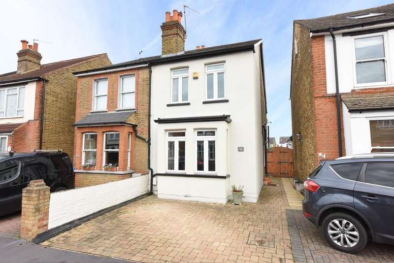 3 Bedrooms Semi Detached House for sale in Russell Road, WATON ON THAMES KT12