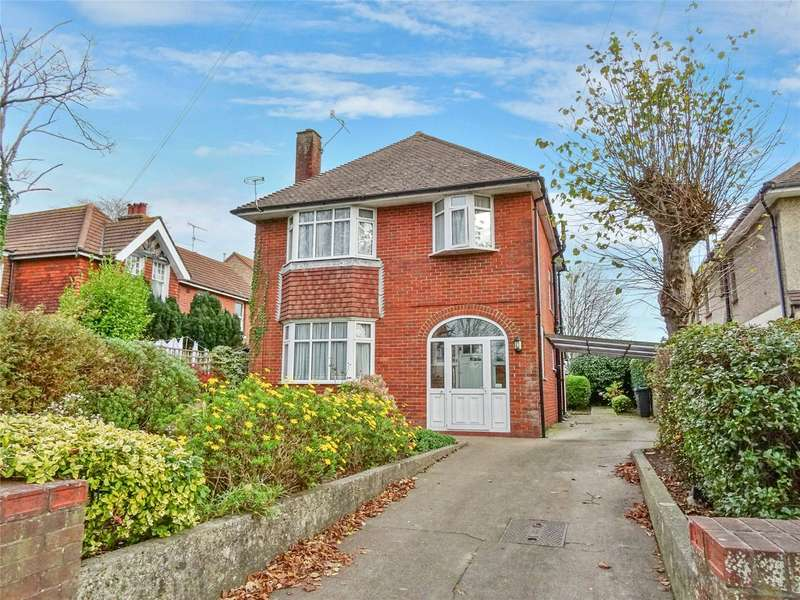 3 Bedrooms Detached House for sale in South Farm Road, Broadwater, Worthing, BN14