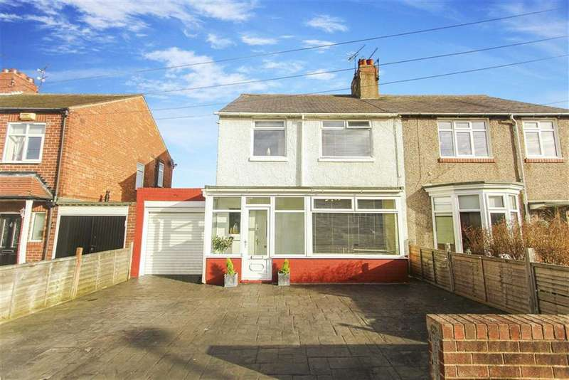 3 Bedrooms Semi Detached House for sale in Hermiston, Whitley Bay, Tyne And Wear