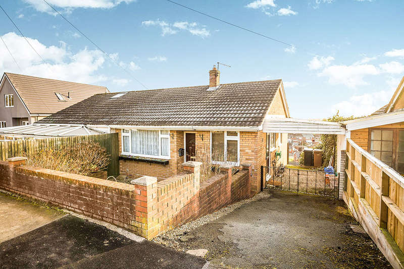 2 Bedrooms Semi Detached Bungalow for sale in Elgar Close, Oswestry, SY11