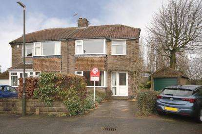3 Bedrooms Semi Detached House for sale in Stubley Close, Dronfield Woodhouse, Dronfield, Derbyshire