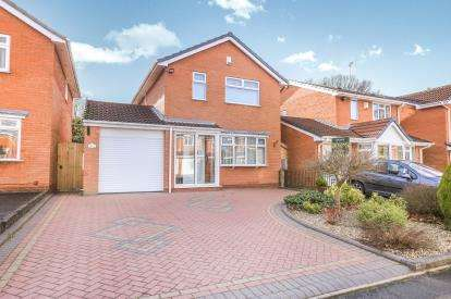 3 Bedrooms Detached House for sale in Primrose Gardens, Featherstone, Wolverhampton, Staffordshire