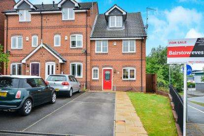 4 Bedrooms End Of Terrace House for sale in Blackthorn Drive, Mansfield, Nottinghamshire, Nottingham