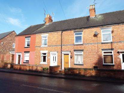 2 Bedrooms Terraced House for sale in Cheadle Road, Uttoxeter, Staffordshire