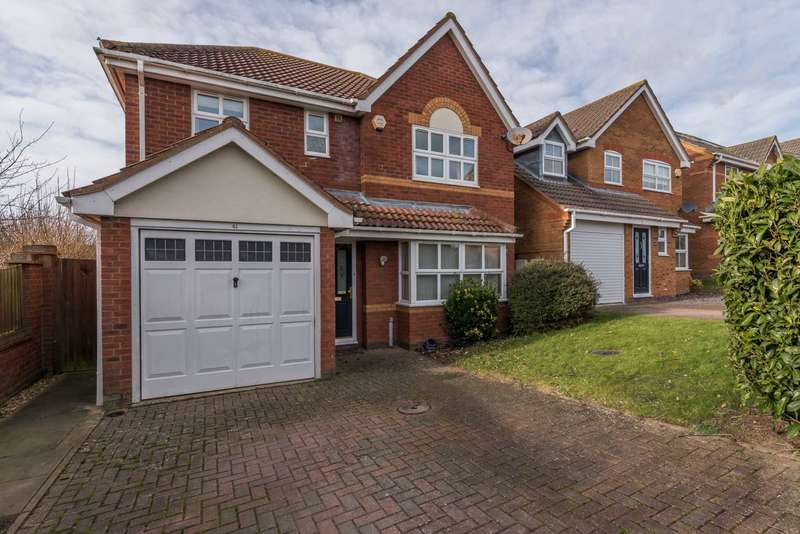 4 Bedrooms Detached House for sale in Hans Apel Drive, Brackley