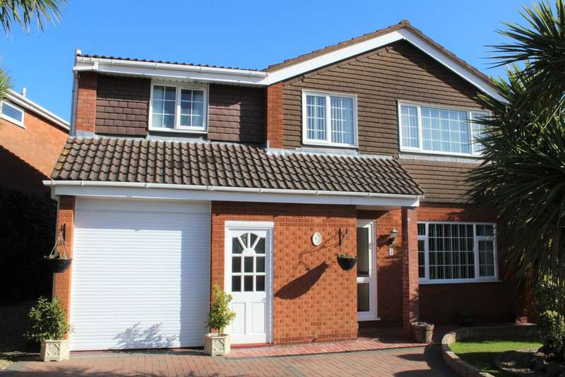 5 Bedrooms Detached House for sale in Wigmore Gardens, Worle, Weston-super-Mare