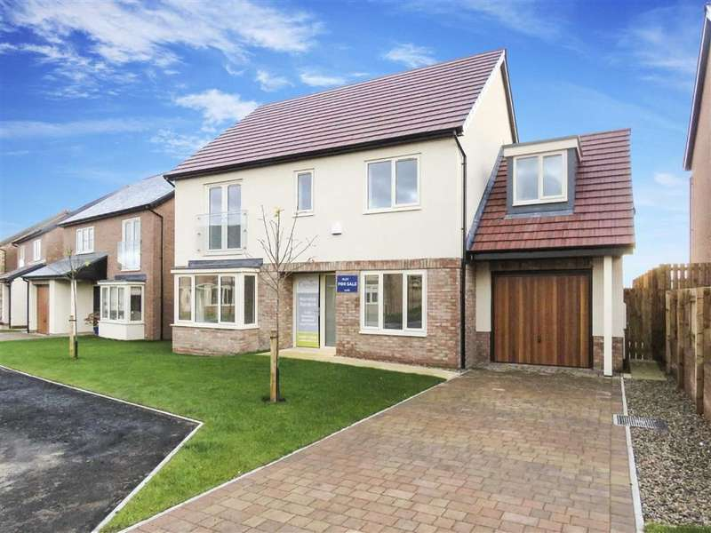 4 Bedrooms Detached House for sale in Montagu Avenue, Warkworth, Northumberland