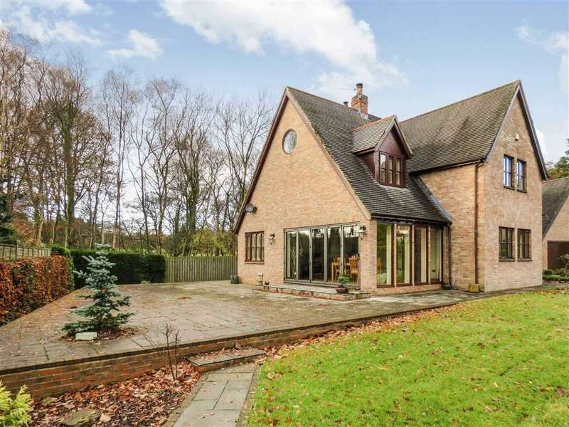 4 Bedrooms Detached House for sale in Chesterwell, Morpeth, Northumberland