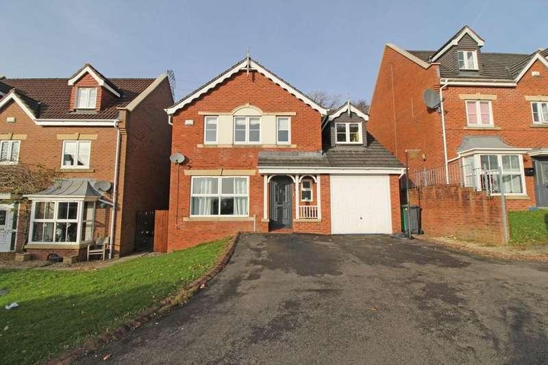5 Bedrooms Detached House for sale in Llewelyn Goch, Parc Rhydlafar