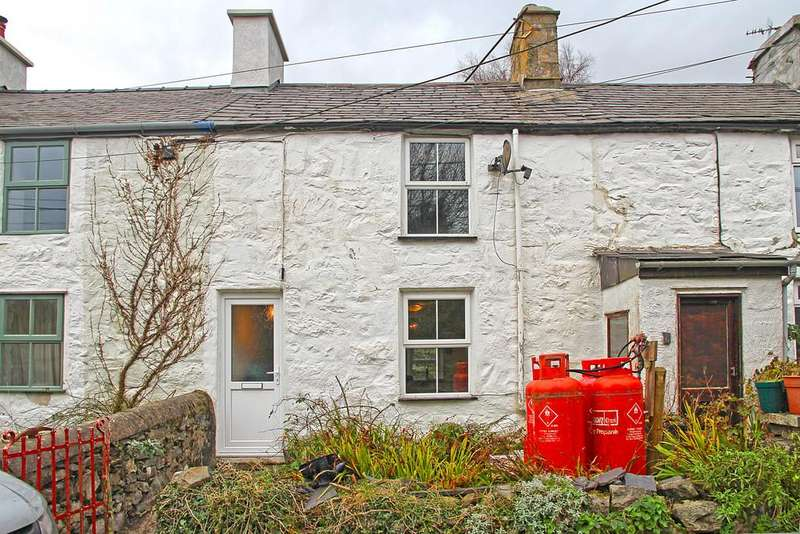 2 Bedrooms Terraced House for sale in Madoc Terrace, Cwm-Y-Glo, North Wales