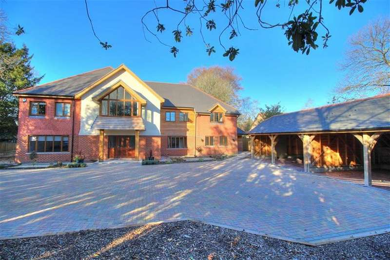 6 Bedrooms Detached House for sale in Winchester Road, Hiltingbury, Chandlers Ford, Hampshire