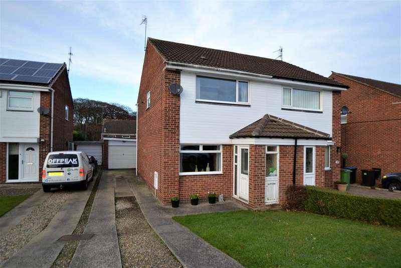 2 Bedrooms Semi Detached House for sale in Langmere, Spennymoor
